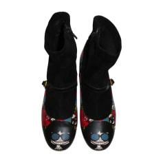 Bottines & low boots plates Marc Jacobs  pas cher