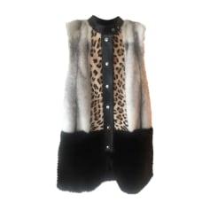 Manteau en fourrure Louis Vuitton  pas cher