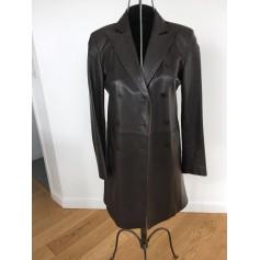 Manteau en cuir Lola  pas cher