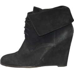 Bottines & low boots à compensés Zara  pas cher