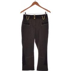 Pantalon droit Pause Café  pas cher