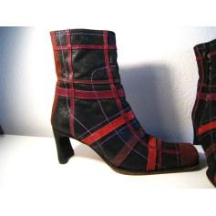 Bottines & low boots à talons Muxart  pas cher