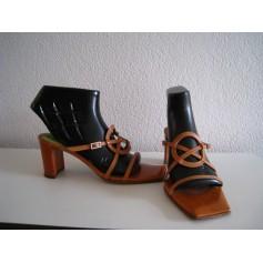 Sandales à talons Muxart  pas cher