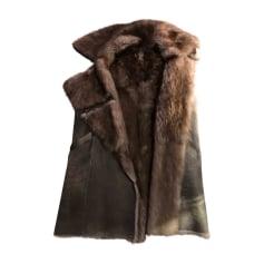 Manteau en fourrure Max & Moi  pas cher