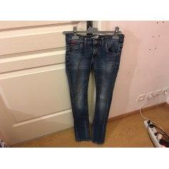 Jeans évasé, boot-cut Chipie  pas cher