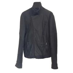 Leather Zipped Jacket Eleven Paris