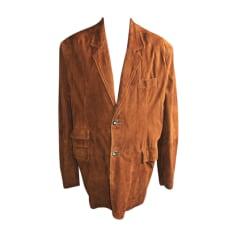 Veste en cuir Yves Saint Laurent  pas cher