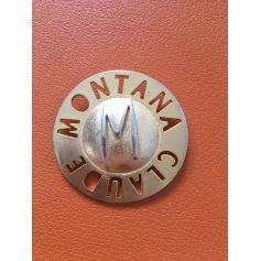 Broche Claude Montana  pas cher