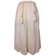 Jupe mi-longue Antik Batik  pas cher