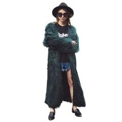 Manteau en fourrure CatchyMarket  pas cher