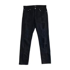 Jeans slim Versus Versace  pas cher