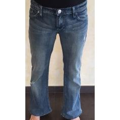 Jeans très evasé, patte d'éléphant Rock & Republique  pas cher