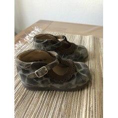 Chaussures à boucle Pom d'Api  pas cher