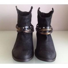 Bottines & low boots motards Tosca Blu  pas cher