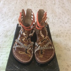 Sandales plates  Sam Edelman  pas cher