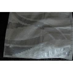 Jupe mi-longue white and black  pas cher