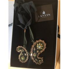 Pendentif, collier pendentif Lanvin  pas cher