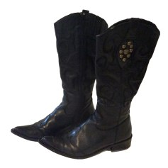 Santiags, bottines, low boots cowboy Bruno Premi  pas cher