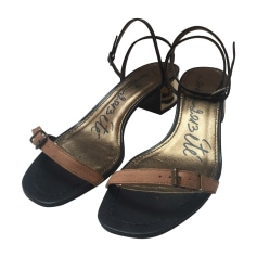 Sandales plates  Lanvin  pas cher