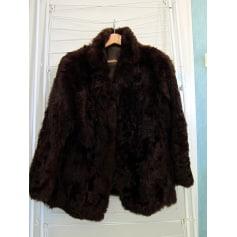 Manteau en fourrure pelze  pas cher