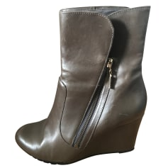 Bottines & low boots à talons Clarks  pas cher