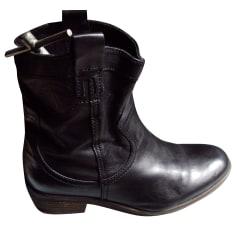 Bottines & low boots motards Palladium  pas cher