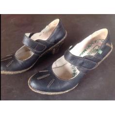 Bottines & low boots à compensés El Naturalista  pas cher