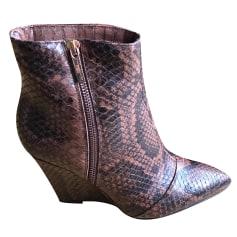 Bottines & low boots à compensés Karen Millen  pas cher