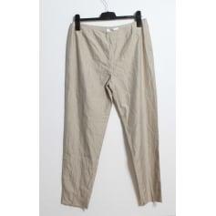 Pantalon slim, cigarette Max Mara  pas cher
