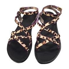 Sandales plates  Dsquared2  pas cher