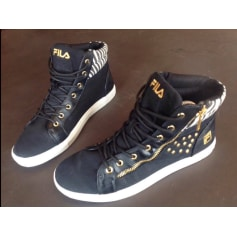 Chaussures à lacets  Fila  pas cher