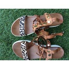 Sandales compensées Inuovo  pas cher