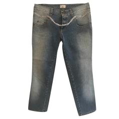 Jeans droit Blugirl  pas cher