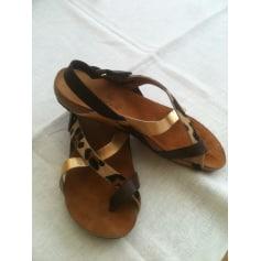 Sandales plates  Yokono  pas cher