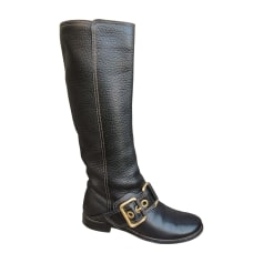 Flache Stiefel Dolce & Gabbana