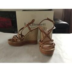 Sandales compensées LK Bennett  pas cher