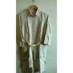 Robe mi-longue Thomas Burberry  pas cher