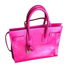 Leather Handbag Saint Laurent Sac de Jour