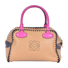Lederhandtasche Loewe