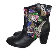 Cowboy Ankle Boots Manoush