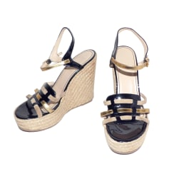 Wedge Sandals Yves Saint Laurent