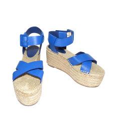 Sandales compensées Céline  pas cher