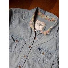 Robe en jeans Abercrombie & Fitch  pas cher