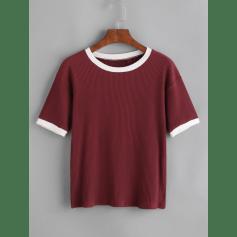 Top, tee-shirt Romwe  pas cher