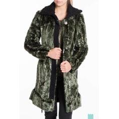 Manteau en fourrure Desigual  pas cher