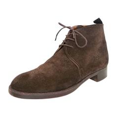 Santiags, bottines, low boots cowboy Hermès  pas cher