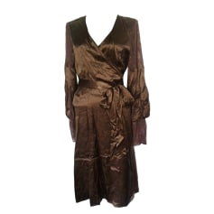 Robe mi-longue Les Petites...  pas cher