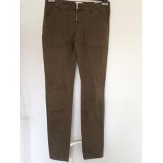 Pantalon droit Bel Air  pas cher