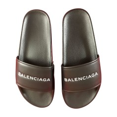 Chaussons & pantoufles Balenciaga Pool Slide pas cher