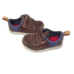 Chaussures à scratch Clarks  pas cher